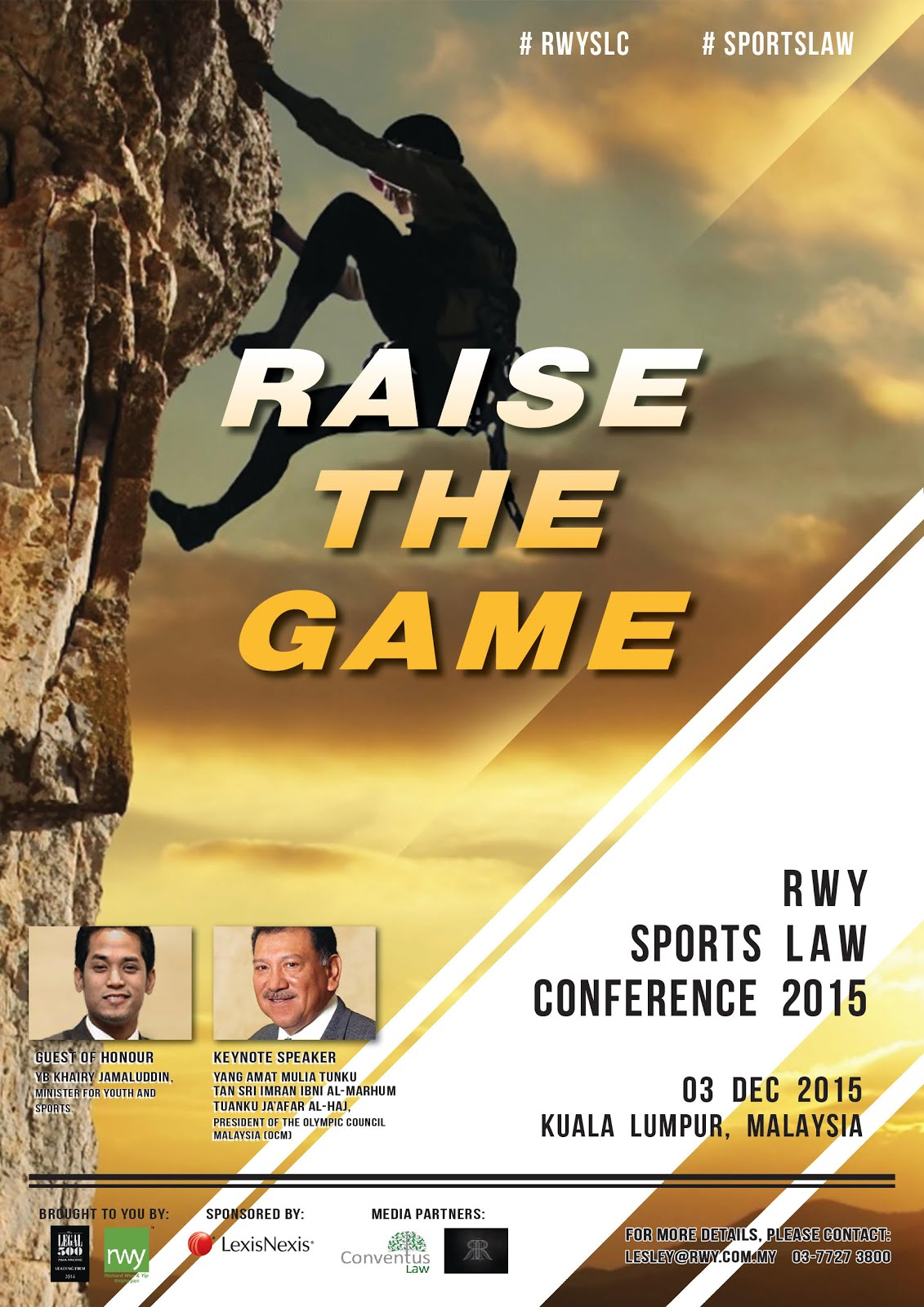 RWY Sports Law Conference 2015