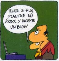 Chiste sobre blogs