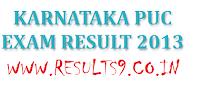 Karnataka PUC Results 2013