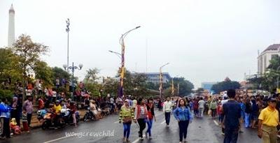 lokasi parade bunga dan budaya di surabaya