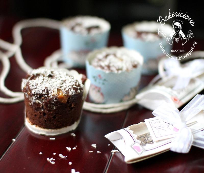 Bakericious: Dulce De Leche Coconut Chocolate Muffins