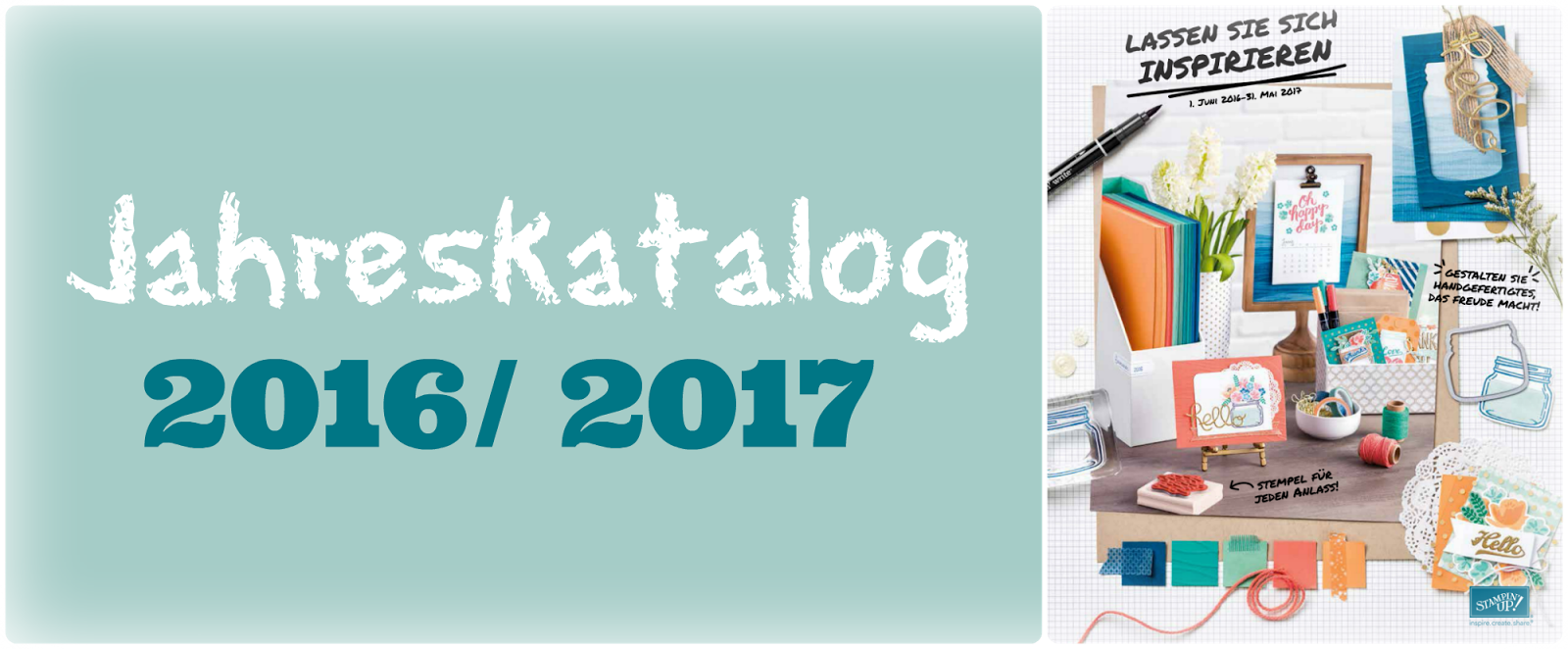 Bestellung Jahreskatalog 2016/ 2017