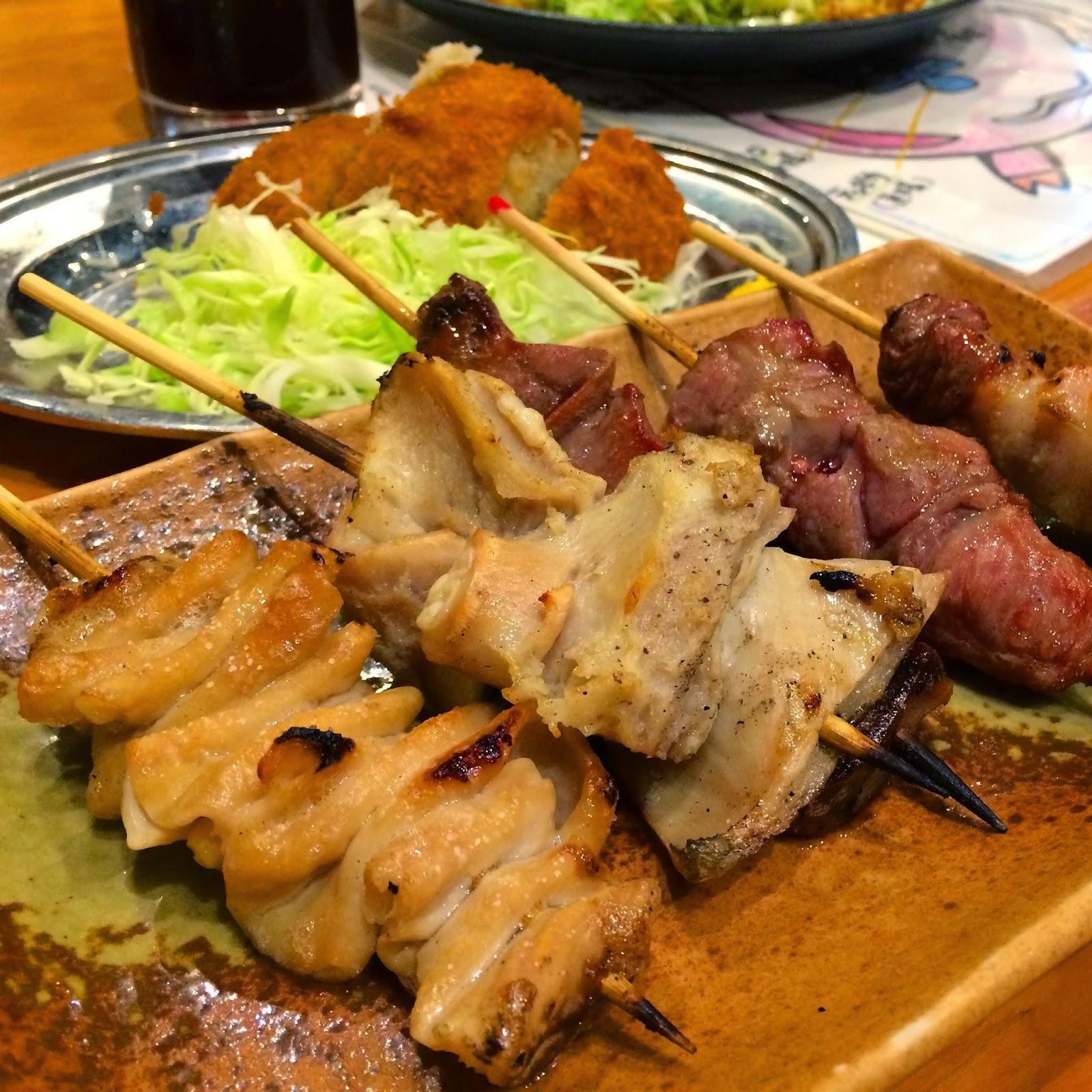 japan Japanese food tokyo izakaya yakiton pork