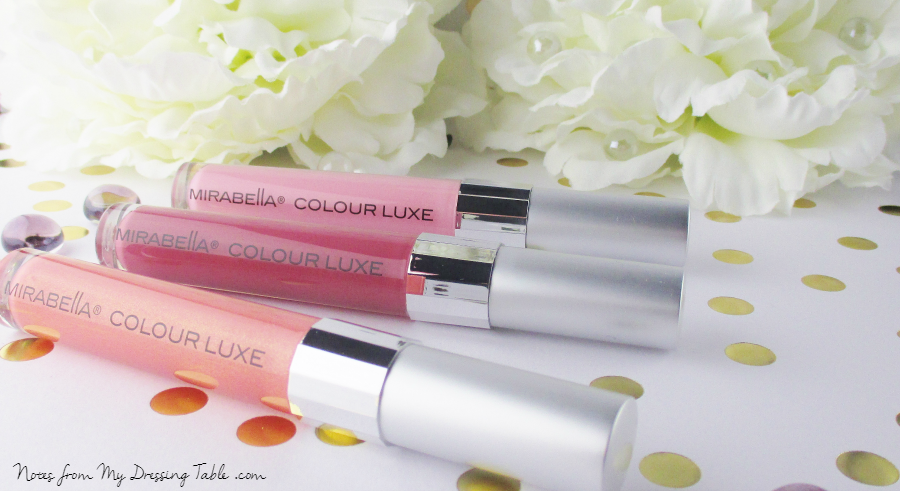Mirablella Go Glossy Lip Glosses Review notesfrommydressingtable.com