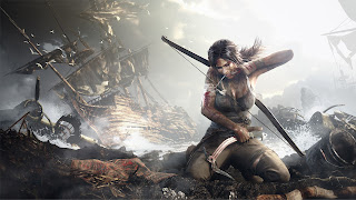 Lara Croft Tomb Rider Bloody Top Female Game Character HD Wallpaper