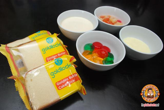 Goldilocks Golden Butter Cake Slice