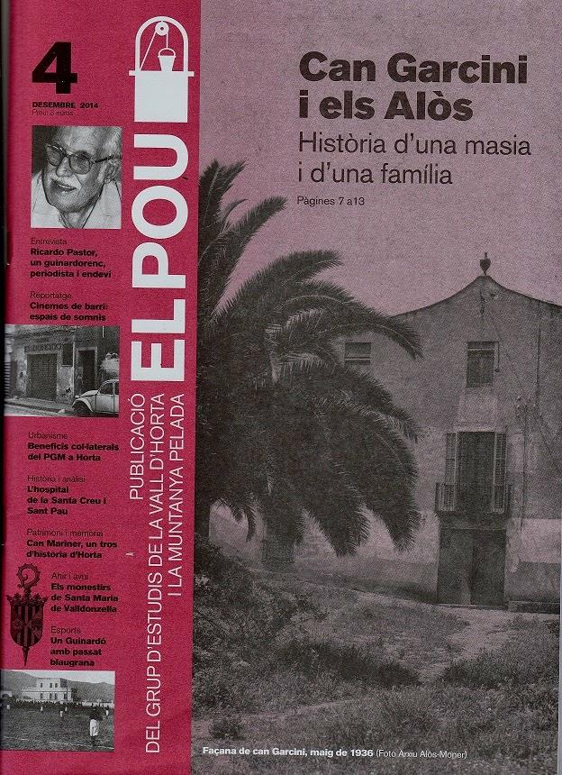 REVISTA  D'HISTÒRIA  DE EL POU nº 4