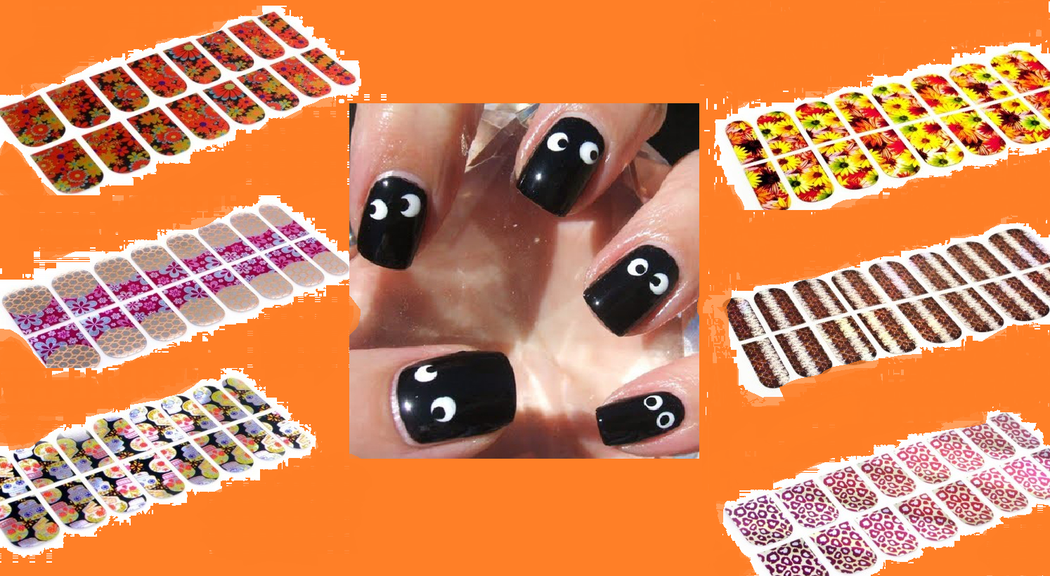 для Хэллоуина / Ideas of manicure for Halloween