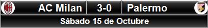 AC Milan 3-0 Palermo