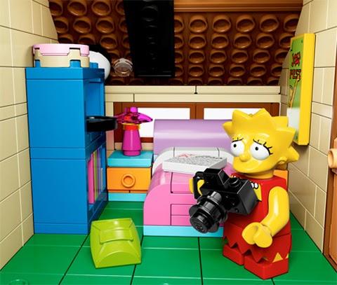 Cute LEGO Simpsons
