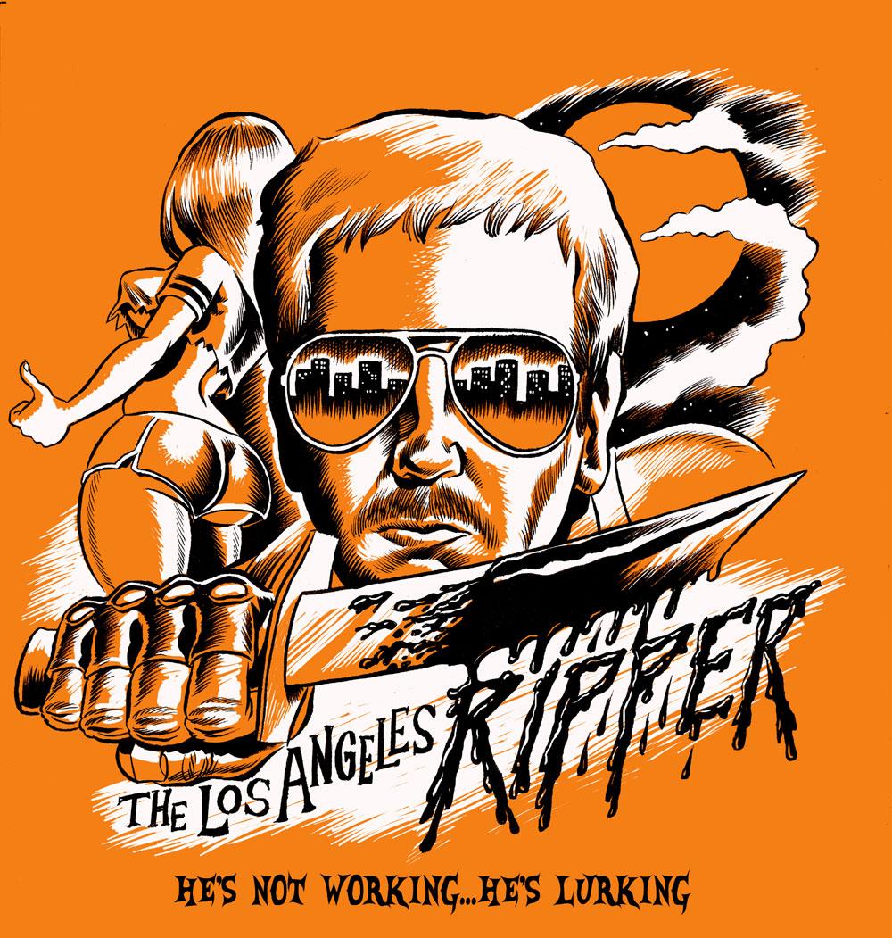 Shirt design los angeles - Los Angeles Ripper T Shirt Design