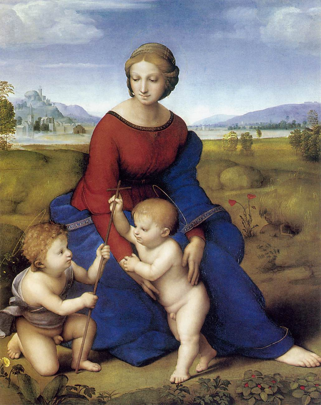 an essay on raphael and bellinis versions of madonna and child Below is an essay on the alba madonna from anti essays, your source for research papers -considered the best of all raphael's madonna and child -in this version of the madonna and child.
