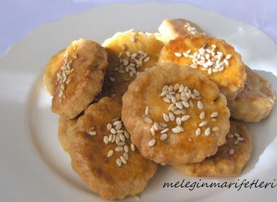 Çıtır çıtır tuzlu kurabiye..