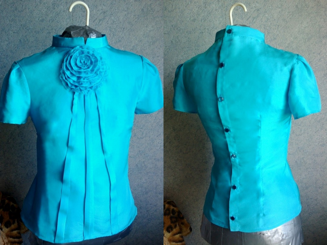 Из чего сшить блузу 72