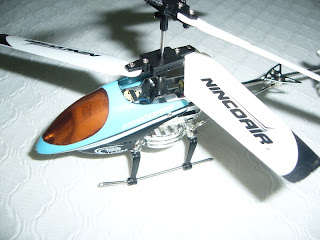 helicóptero miniatura por infrarrojos marca Nincoair modelo alu-mini 155