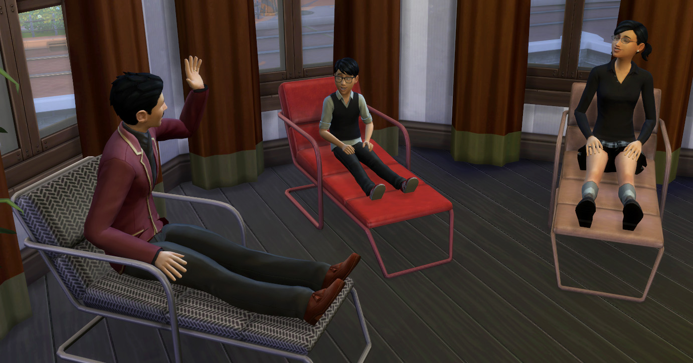 My Sims 4 Blog Functional Lounge Chair by Esmeralda