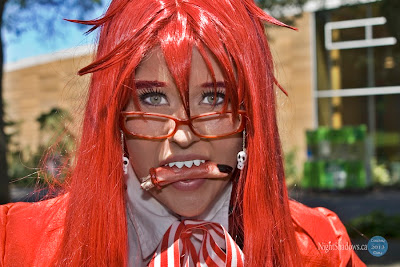 Cosplay of Grell Sutcliff from Black Butler