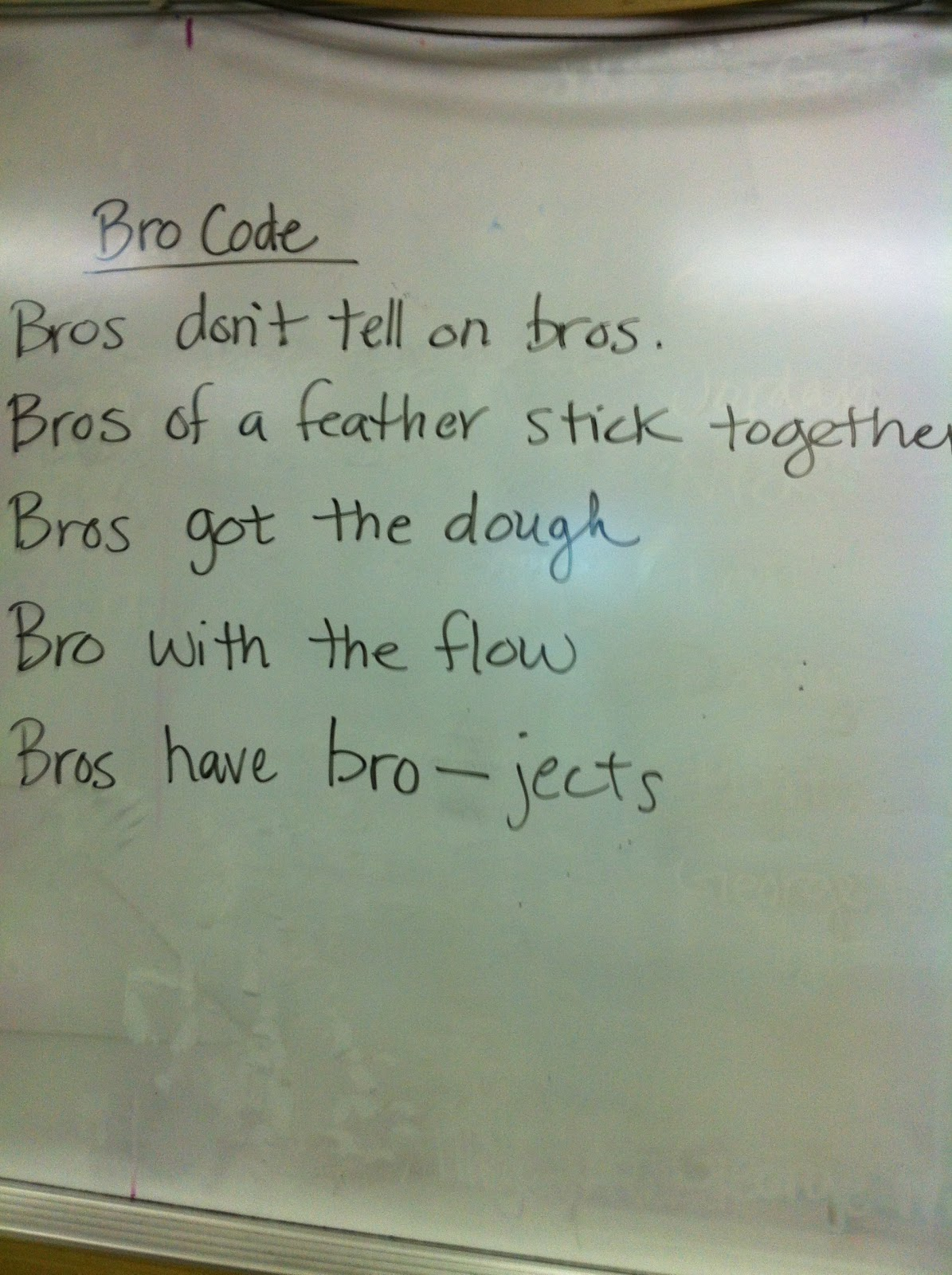 21 Rules You Need To Know About The Bro Code