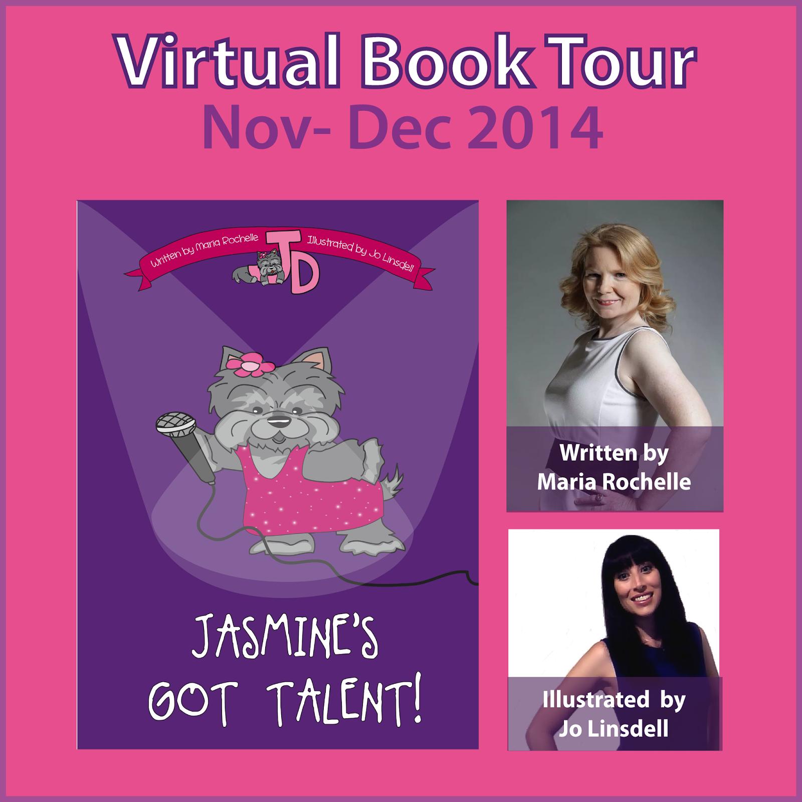 Book tour banner!