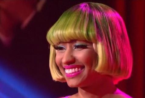 baby pictures of famous people Nicki Minaj
