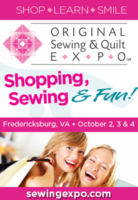 Sewing Expo is Coming