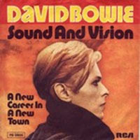 Capa do compacto Sound and Vision, de David Bowie