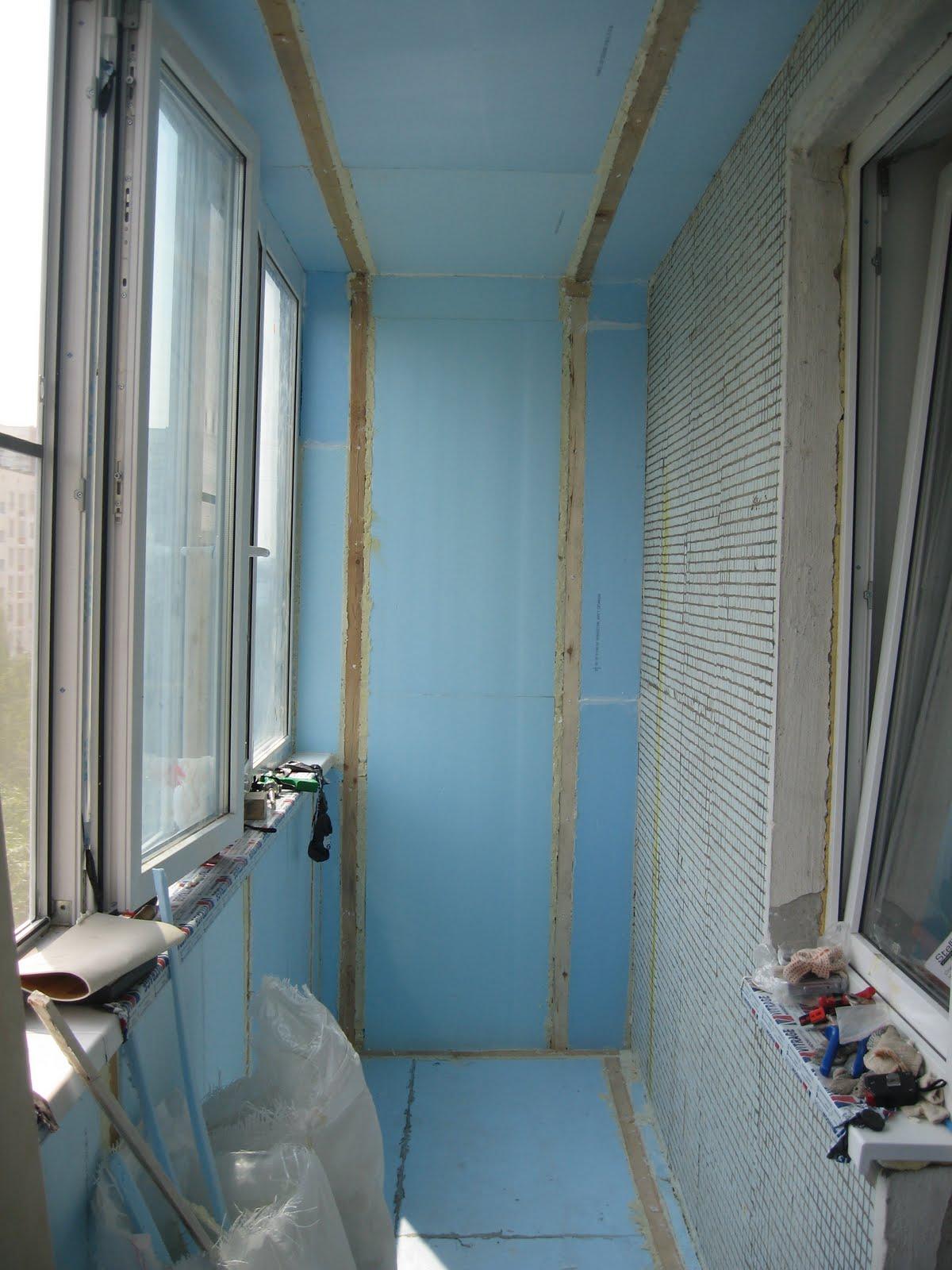 Как отделать балкон или лоджию своими руками фото