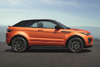 Land Rover Range Rover Evoque Convertible (2016) Side