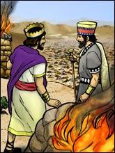 Balak and Balaam - Artist unknown