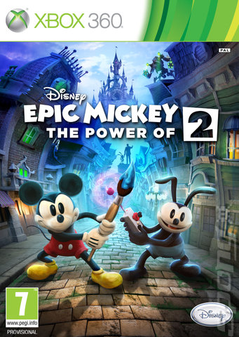 Epic Mickey 2: The Power of Two   XBOX 360   Disney Epic Mickey 2 The Power of Two Xbox 360