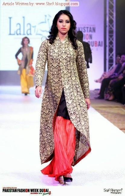 Pakistan Fashion Week Dubai 2014 15 Season 2 Presents Lala Collection She9 Change The Life Style