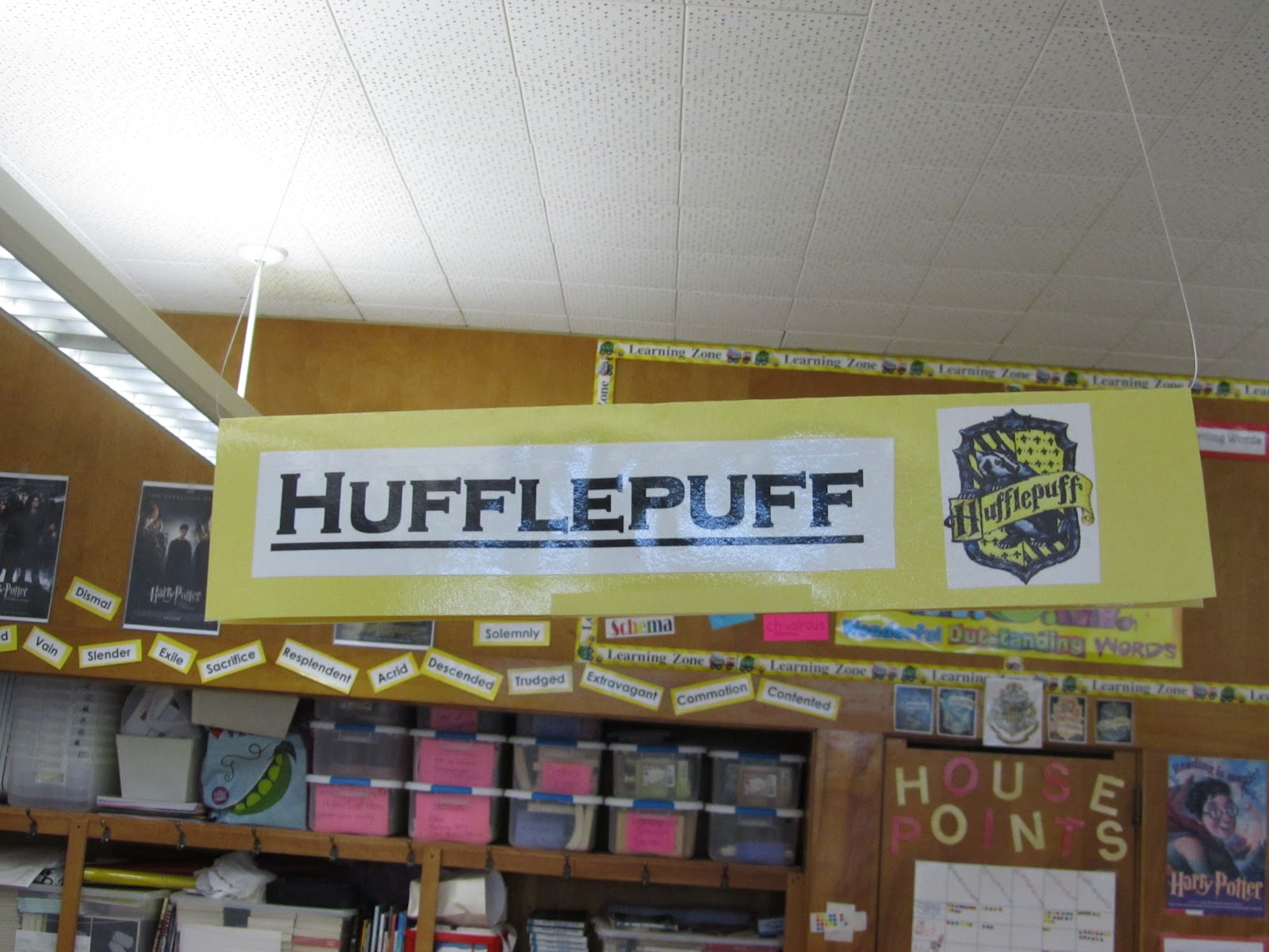 Harry Potter Classroom Decorations ~ The reading buddies harry potter classroom theme