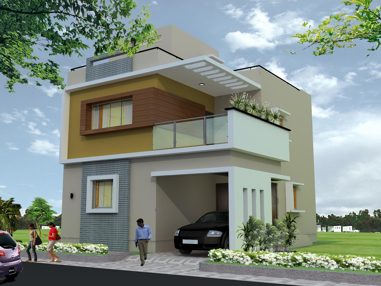 Plan For Duplex House In 30x40 Site Joy Studio Design