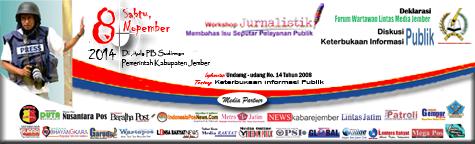 Deklarasi Forum Wartawan Lintas Media Jember