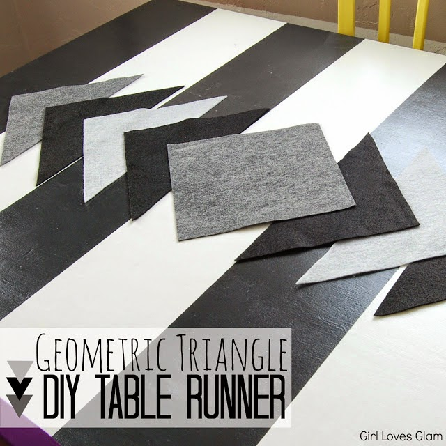 http://www.girllovesglam.com/2013/02/diy-geometric-triangle-table-runner.html