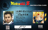 id card de dragon ball