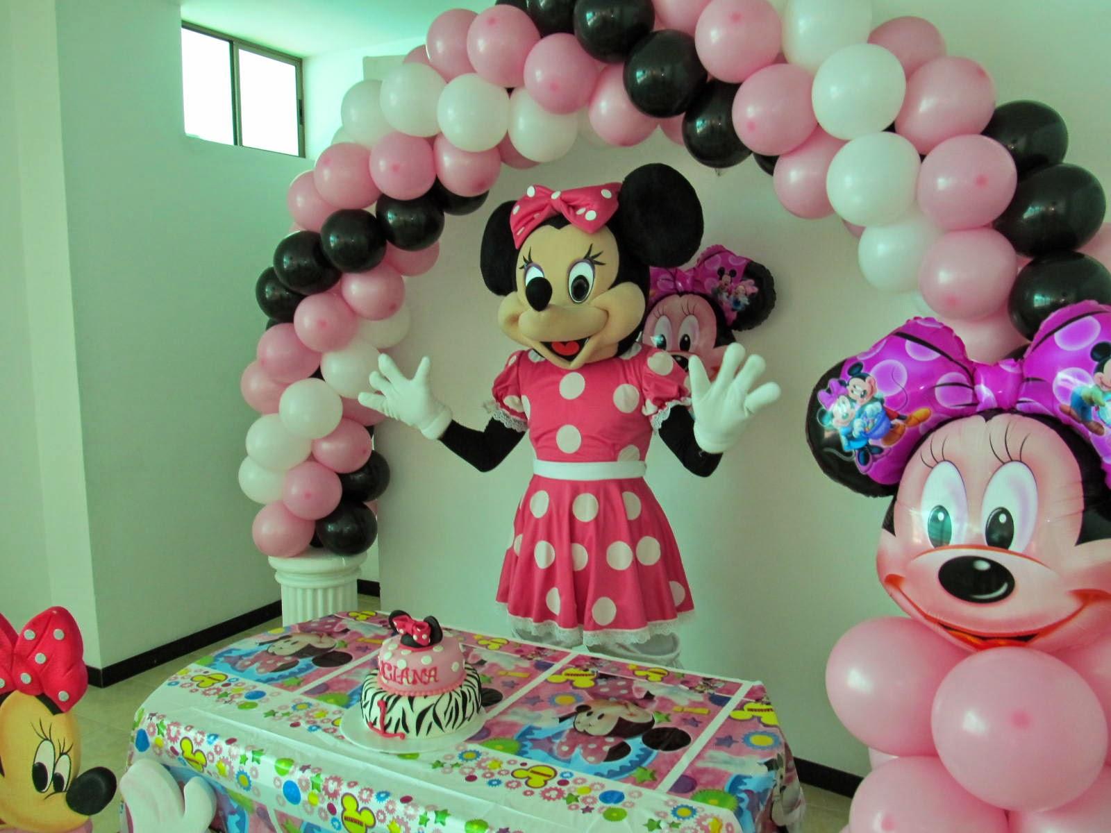 Minnie decoracion fiestas for Decoracion de minnie mouse