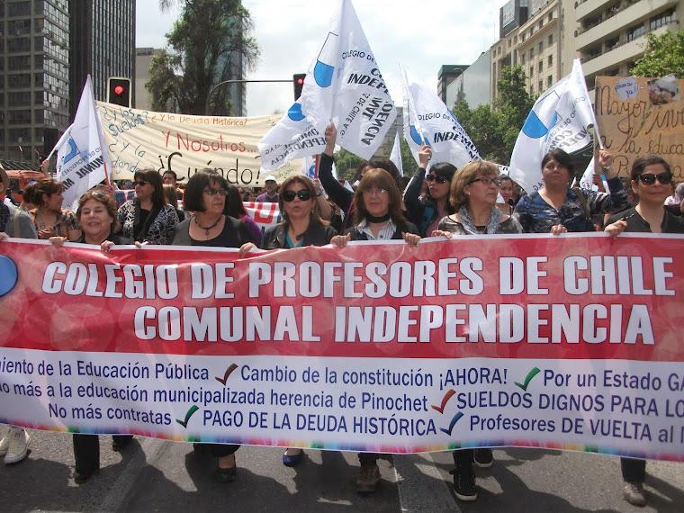 INDEPENDENCIA MOVIMIENTO SOCIAL  INDEPENDIENTE.AL SERVICIO DE LOS DOCENTES DE LA COMUNA.