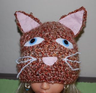 Creepy Kitty hat