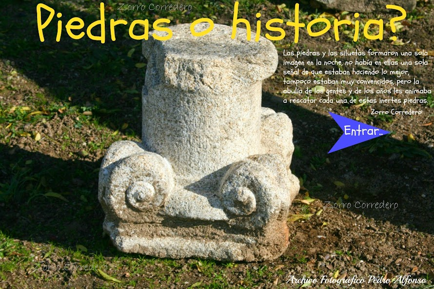 Piedras o historia?