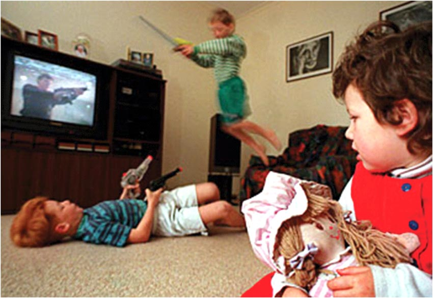 the effects of viewing television violence in children aggression Studies of the effects of fantasy violent c_,ntent in television on aggressive behavior are reviewed and used to assess three positions: (a) an activatio_z view that watching televised fantasy violence causes aggressive behavior.