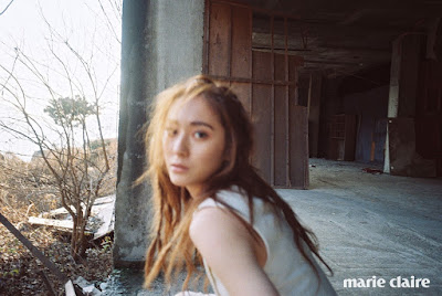 Krystal Jung f(x) Marie Claire January 2016