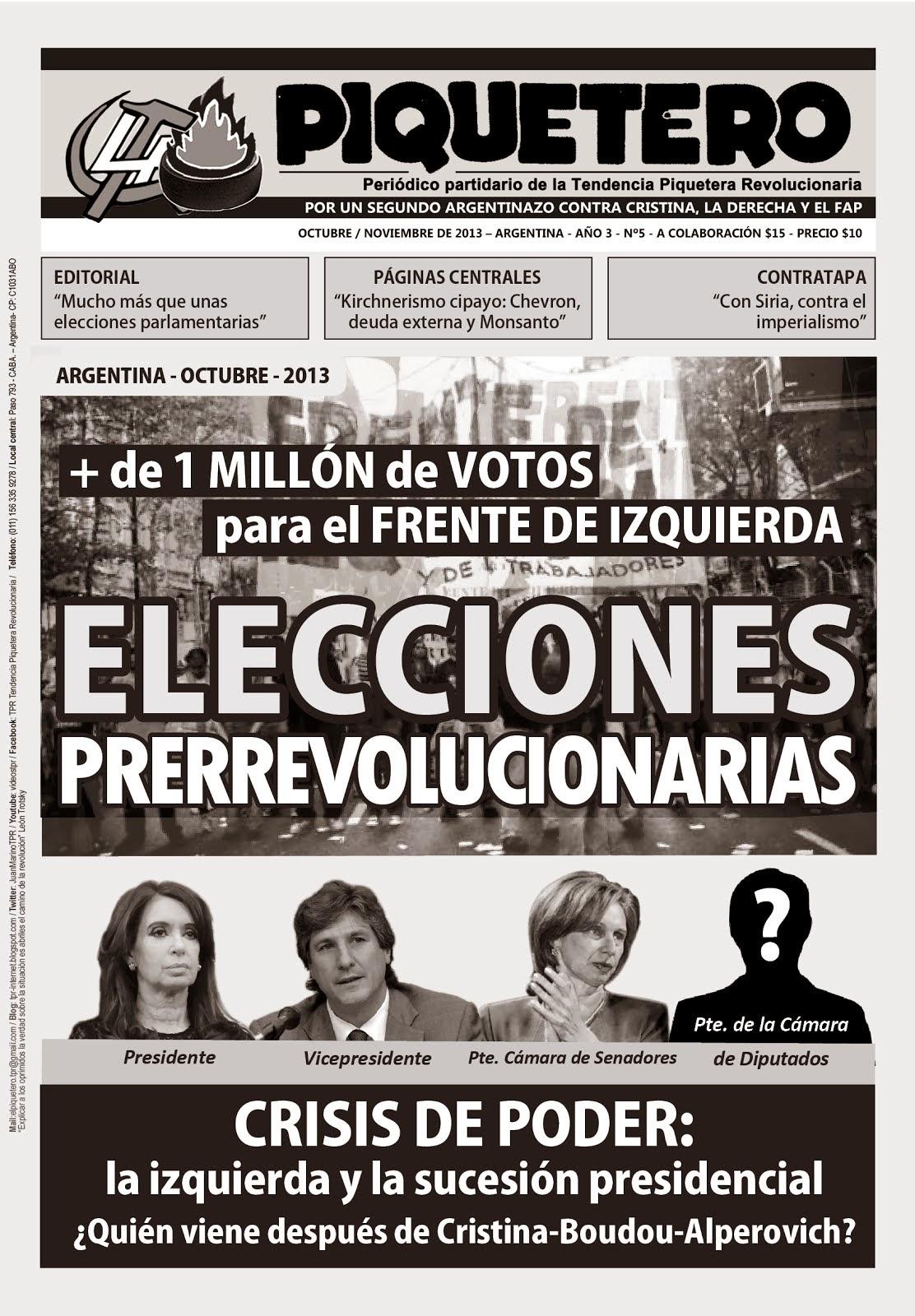 ¡YA SALIÓ! - EL PIQUETERO - Nº5 - AÑO 3 - OCTUBRE/NOVIEMBRE 2013
