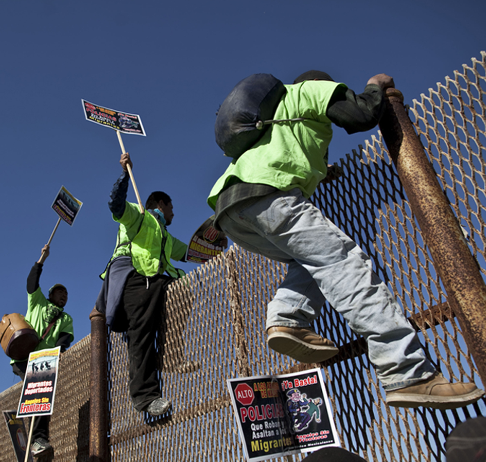 Immigration News: The Political War Zone: States Tougher Illegal Immigration