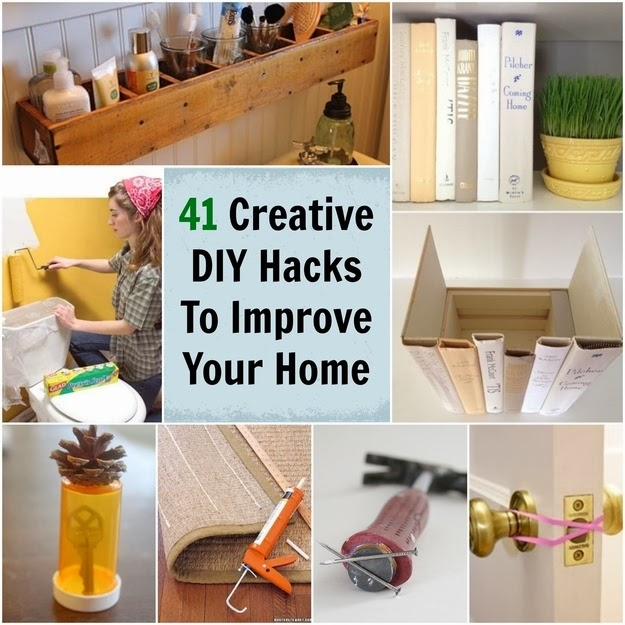 41 super creative diy hacks ideas to improve your home diy craft projects - Insanely easy clever diy projects home ...