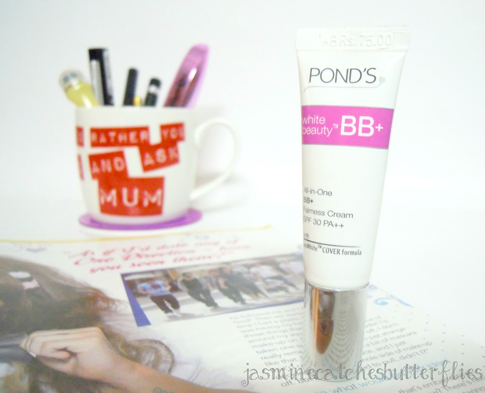 Pond's White Beauty BB Cream Review and Swatches