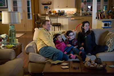 Will Ferrell, Linda Cardellini, Scarlett Estevez and Owen Vaccaro in Daddy's Home