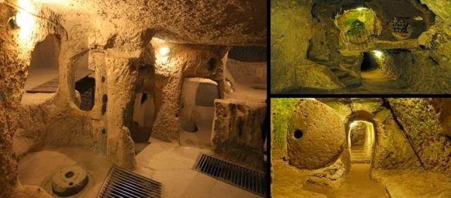 Ancient Underground City In Turkey 300 Feet Deep