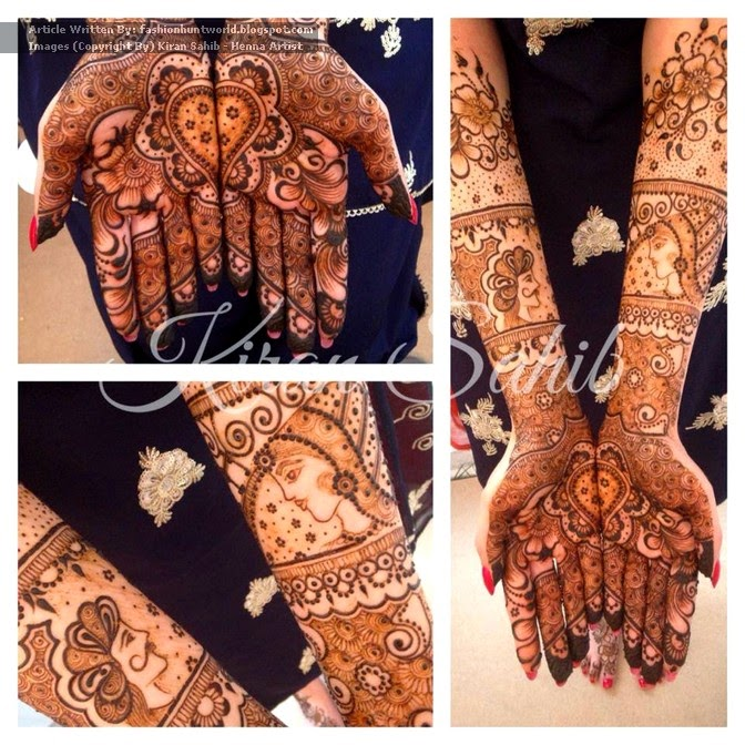 Beautiful Christmas Henna Designs