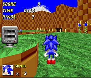 Sonic 3D Game